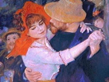 Malowanie Manet - Taniec z tancerzem i tancerką