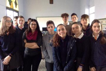 Class of 3º ESO. Spain. - This is the French class of 3º ESO from Oratorio College in Jerez de la Frontera, Spain.