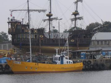 Port à Darłowo - Port de Darłowo.