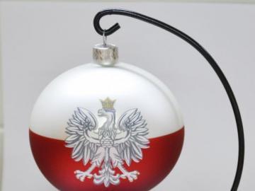 Nationale kerst Ornament. - Nationale kerstbal uit vakanties.
