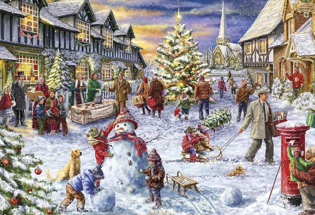 Timpul Crăciunului - Perioada de Crăciun înainte de Crăciun (12×12)