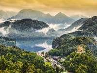 Bavarian Alps. - Europe. Germany. Bavarian Alps.