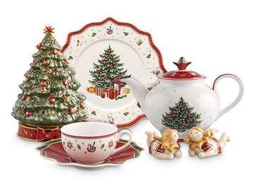 Świąteczna porcelana. - Boże Narodzenie: świąteczna porcelana.