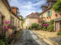 A street in Hautefort.