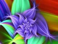 abstraction - puzzle coloré