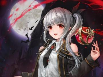 Anime Vampire Girl - Questa è una ragazza vampira anime (sangue)!