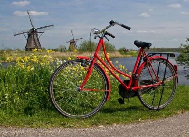 Holland táj (12×12)