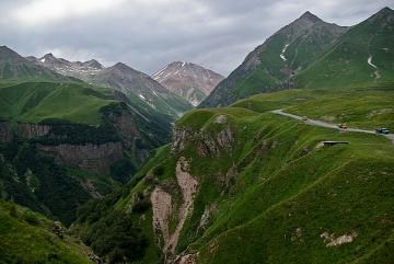 Georgia. Caucasus. - Landscapes. Georgia. Caucasus Mountains.