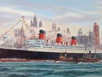 Queen Mary - Queen Mary v New Yorku.