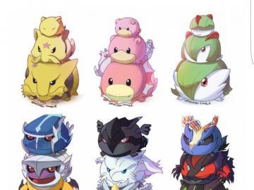 Pokemon Chibi - 12345678901234567890
