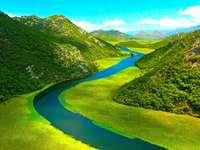Montenegro. - Montenegrijns landschap.