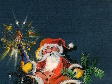 Noël - belle aquarelle