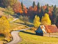 Остров Бескиди през есента