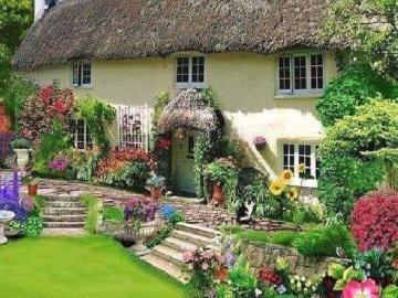 Une belle maison avec un jardi - Maison avec jardin, chiens