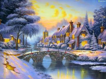 hora mágica - Natal, magia de Natal
