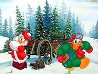 Donald, festive