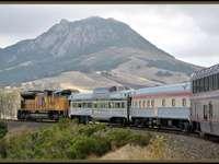 Αμερικανικό τρένο.