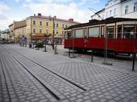 tramvaj na Plac Sobieski