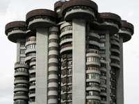 byggnad i Madrid