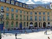 Párizs-Hotel Ritz - A Paris-Hotel Ritz eltérő környezetben található
