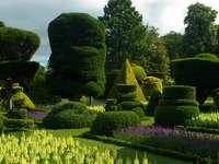 Английска градина.