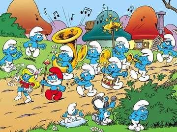 smurffny world - for children - a smurf, a funny world