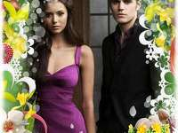 stefan salvatore and elena - Stefan and Elena, Easter