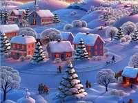 пухкава зима - красива пухкава и бяла зима