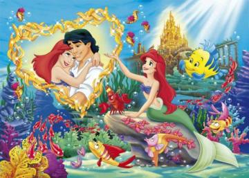 the ariel little mermaid - the little mermaid ariel while dreaming the prince eric