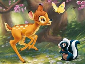 bambi őz - bambi fóliával
