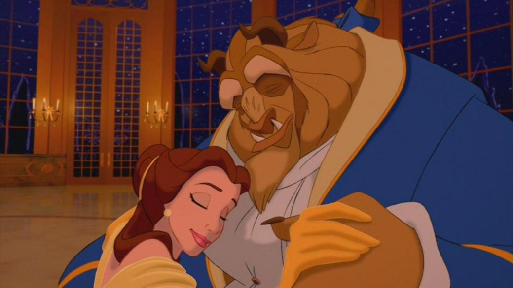 the beauty and the Beast - Belle and the beast who dances (13×13)