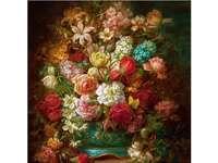 Színes virágok.