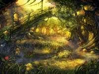 Forêt mystérieuse. - Pour les enfants. Forêt mystérieuse.