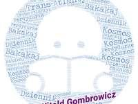 Witold Gombrowicz - Títulos de las obras del autor en la nube de palabras.