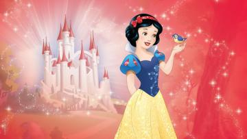 Snow White and the Seven Dwarf - snow white background wallpaper and castle