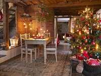 Kerst decor. - Świąteczne wnętrze