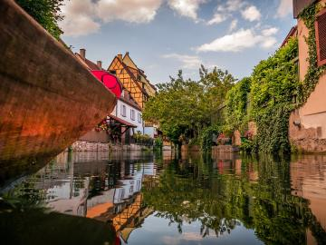 Colmar. France. - Yes for rest after winter. A bit of warmth and colors.
