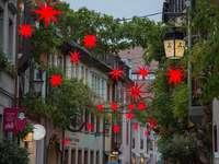 Rue à Fribourg. - Une rue d'accueil.