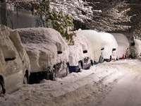 Fléau du conducteur d'hiver. - Fléau du conducteur d'hiver.
