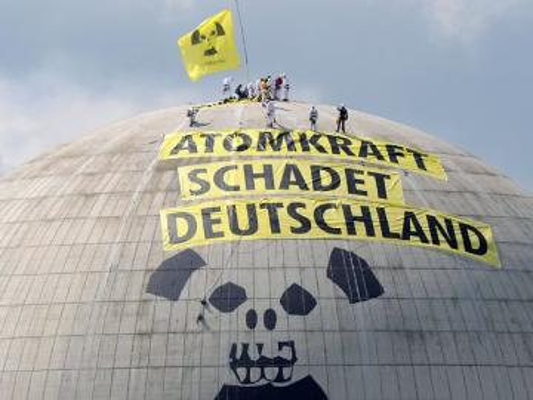 akcja Greenpeace - To spektakularna akcja Greenpeace