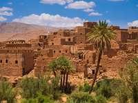 Maroc - clădiri de lut - Clădiri neobișnuite din lut Maroc