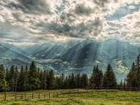 Планини на слънце