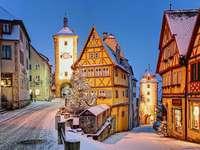 Rothenburg - Rothenburg, een Beierse stad