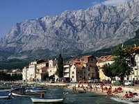 Makarska-promenadă