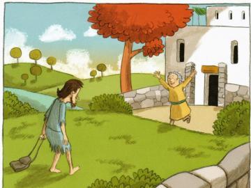 Syn marnotrawny - Puzzle na przypowieści o synu marnotrawnym