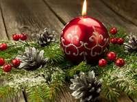 Karácsonyi dekoráció.