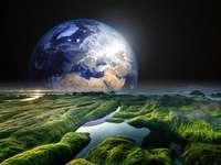 Jordligt landskap