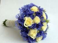A beautiful bouquet of cornflo - A beautiful Bouquet of Cornflowers