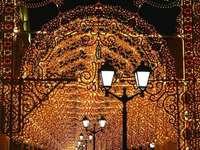 Świąteczna iluminacja. - Świąteczna iluminacja w Moskwie.