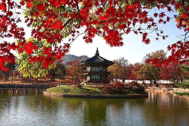 Дворец Сеул - Сграда. Корея. Дворец Сеул (9×8)